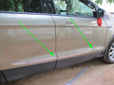 Chrome Body Door Side Molding cover trim for 2013-2018 FORD Escape kuga 2014