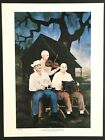 GEORGE RODRIGUE SAGA OF THE CAJUNS MELODIE TOUJOURS  # LIMITED EDT. W/COA 18X24