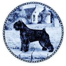 Bouvier des Flandres - Dog Plate made in Denmark from the finest European Porcel