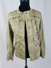Marrakech Anthropologie women S cropped army military jacket