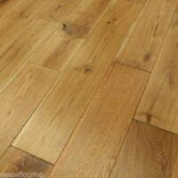 Solid Oak Brushed Oiled Real Wood Wooden Floor Hardwood Flooring
