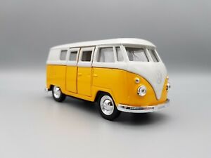 VW T1 Bus Diecast Model Car 1/38 by Welly - Excellent Condition