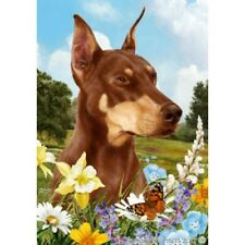 Summer Garden Flag - Red Doberman Pinscher 180661