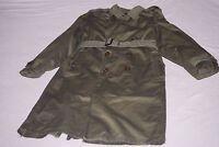 KOREAN WAR Braemoor Garment REGULAR MEDIUM ARMY M-1950 OD-7 Overcoat TRENCH COAT