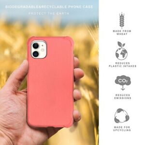 Eco-friendly Biodegradable Shockproof Case Cover for iPhone 12 Pro Max Mini