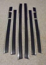 1992-99 CHEVROLET  GMC C/K SUBURBAN Precut Chrome Black Body Side Molding