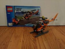 Lego City Helicopter Transporter (7686)-Incomplete, Used w/ Instructions No Box