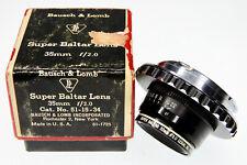 """Bausch & Lomb Super Baltar 35mm f2 """"Compact Version"""" Leica M mount .... MINT/Box"""