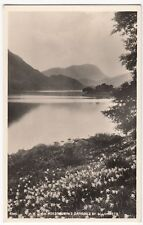 Lake District; Wordsworth's Daffodils By Ullswater RP PPC, Unposted, by Abraham