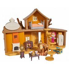 Puppenhaus Puppenstube Spielzeug Mascha und der Bär Spielset 2 Etage Haus Kinder
