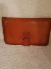 LSOP Genuine Tan Leather Bifold Wallet