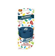Jelly Belly Gel Can Blueberry Air Freshener Car - Home - Office - Cup Holder NEW