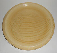 Franciscan Pottery Sea Sculptures Sand Conch Dinner Plate