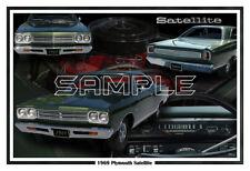 1969 Plymouth Satellite Poster Print