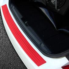 1pc Red 3*35'' Auto Car Trunk Boot Cargo Bumper Guard Rubber Cover Protector Bar