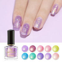 BORN PRETTY 6ml Glitzer Nagel Lack Sequins Holographisch Nail Varnish Maniküre