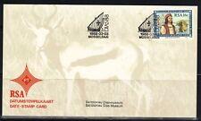 RSA Südafrika Date-Stamp Card Bartholomëu Diaz MiNr. 721, 1988 Mosselbai SSt