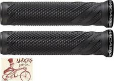 LIZARD SKINS DANNY MACASKILL LOCK-ON BLACK BICYCLE GRIPS