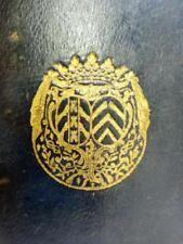 Rare RELIURE aux ARMES Duchesse de BRANCAS Maroquin BIBLE SACY Port Royal 1701