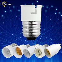 B22 E27 E14 Bulb Base Converter Light Socket Adapt Extender LED Lamp Holder Fit