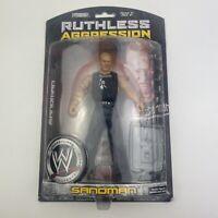 WWE WWF Wrestling Jakks Ruthless Aggression Series 30 SANDMAN Figure (MOC)