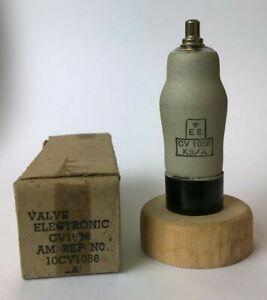 EF36 CV1056 EF37 6J7G Mullard UK 1 piece unused store soiled NOS tube valve