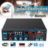800W Digital HIFI Stereo Amplifier bluetooth Audio Tuner USB SD FM Aux Mic Car