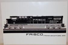 """FRISCO ES44-AC Diesel Train Sr Century Frank Swafford Print Railroad 2010 13x19"""""""