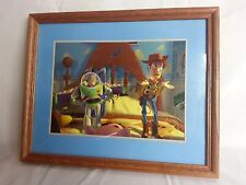 Disney Toy Story Woody And Buzz Light year Lithograph 1996