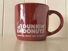 Rare NEW Iridescent Collectable Dunkin Donuts Doughnuts Ceramic Lustre Mug Cup