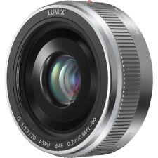 Panasonic LUMIX H-H020AS G 20mm / F1.7 II ASPH. Silver Lens