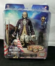 "New Neca Bioshock Infinite Motorized Patriot Ben Franklin 9"" Concept Figure FP20"