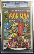 The Invincible IRON MAN #30 CGC 8.5 VF+