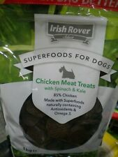 Irish Rover Superfoods - Dog Food Treats - 1 Kg - Chicken With Spinach & Kale