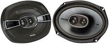 "Kicker 41KSC6934 6x9"" 3-Way Triaxial Car Stereo Speakers 150w RMS"