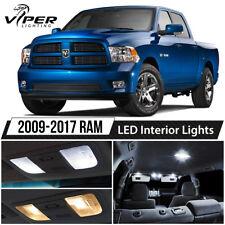 2009-2017 Dodge RAM 1500 2500 3500 White LED Interior Lights Package Kit