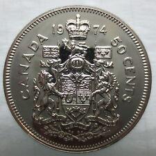 1974 CANADA 50 CENTS SPECIMEN HALF DOLLAR COIN