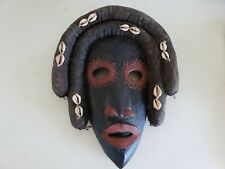 """African Small Hand Carved Carving Wood Art Sculpture 8"""" x 4"""" from Burkina Faso"""