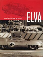 ELVA  The Cars, The People, The History Janos Wimpffen BRAND NEW UNREAD MINT