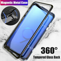 NEW MAGNETIC ADSORPTION SLIM SHOCKPROOF BLACK CASE COVER FOR SAMSUNG GALAXY S9