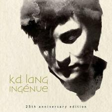 """K.D. LANG �€Ž�€"""" ING�‰NUE 25th ANNIVERSARY 2CD EDITION (NEW/SEALED) Inc MTV"""