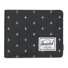 Herschel Supply Co. Men's Roy Bifold RFID Blocking Card Wallet GRDLCK Black