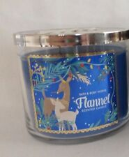 1 Flannel Scented Candle Bath & Body Works 14.5 Oz