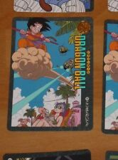 DRAGON BALL Z GT DBZ VISUAL ADVENTURE CARDDASS CARD CARTE 98 MADE JAPAN 1991 **