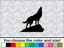 Coyote Wolf Howling Animal Sticker Vinyl Decal Car Wall Door Window Laptop