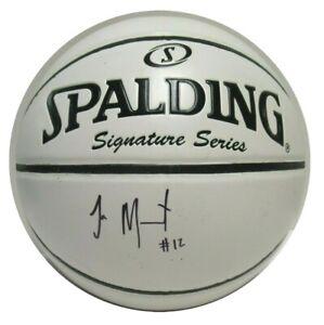 Ja Morant Signed Autographed Basketball Memphis Grizzlies PSA/DNA AJ56267