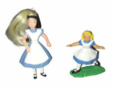 Vintage 1984 Alice In Wonderland Figure & 1995 McDonalds Alice In Wonderland Toy