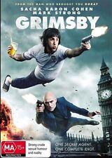 Grimsby (DVD, 2016) Genuine & unSealed (D117)
