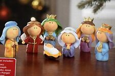 Holiday Time Childrens Nativity Set 7-Piece Youth Christmas Decor