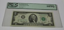 Fr 1935-H 1976 Two Dollar Note $ 2 St. Louis PCGS Graded 64 Very Choice New Bill